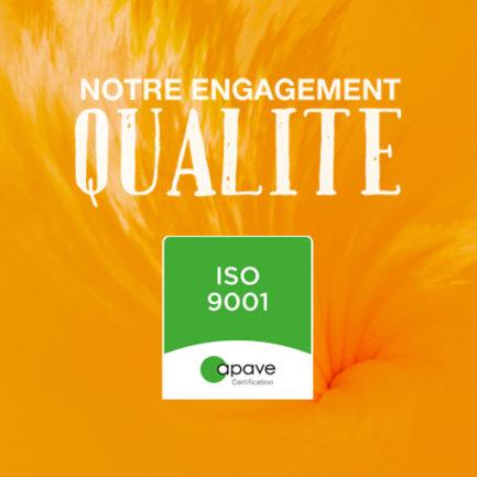 Avec la norme ISO-9001, SIMAB s'engage dans la qualité